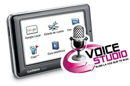 Garmin Voice Studio