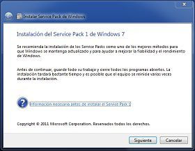 último service pack