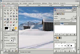GIMP editor gráfico