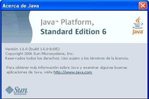 Java Runtime Environment JR2E para aplicaciones JAVA