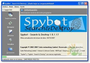 Spybot Search Destroy 2
