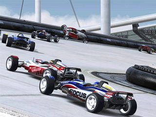 Carreras de coches de TrackMania Nations Gratis