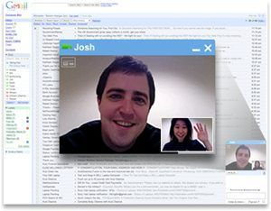 Chat de video para Gmail